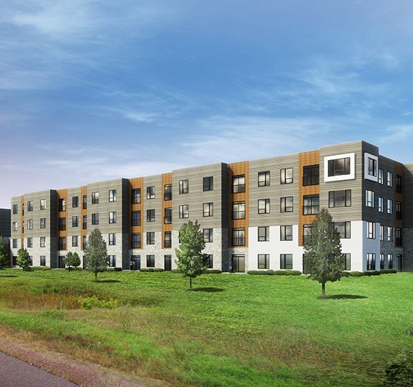 Rendering of Port Evergreen
